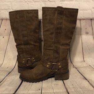 Report Tall Brown Tessah Harness Boots 8